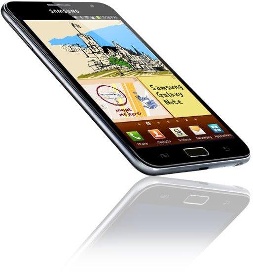 Samsung Galaxy Note Angle
