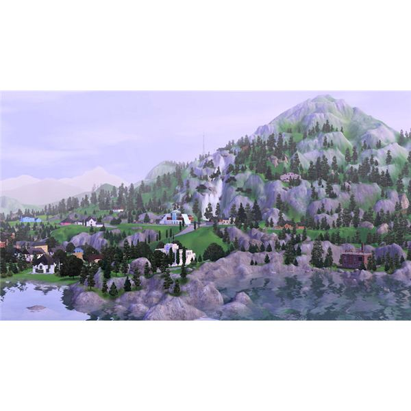 The Magical World of The Sims 3 Hidden Springs