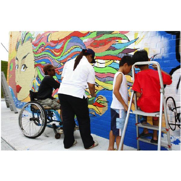 Colours of Diversity Mural