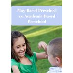 Play-Based Preschool vs Academic-Based Preschool