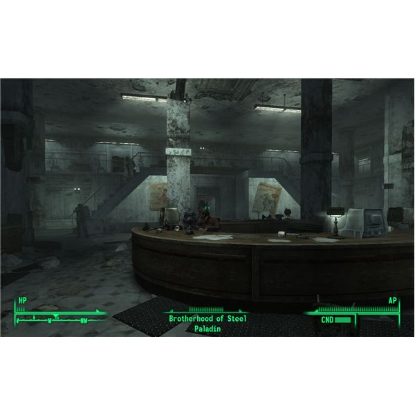 Fallout 3 - The Brotherhood of Steel is Ready to Help in the Library