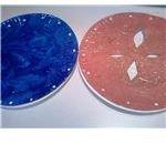 Pie Plate & Crust Painted