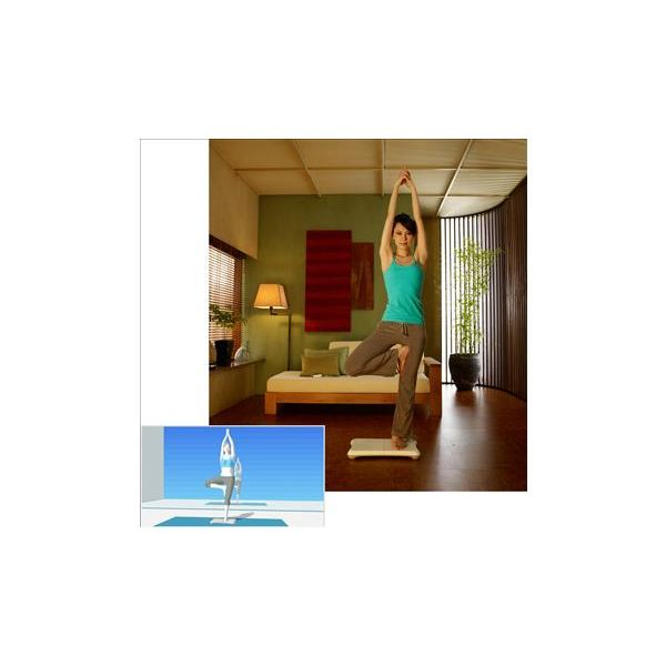 Wii Fit Yoga Pose