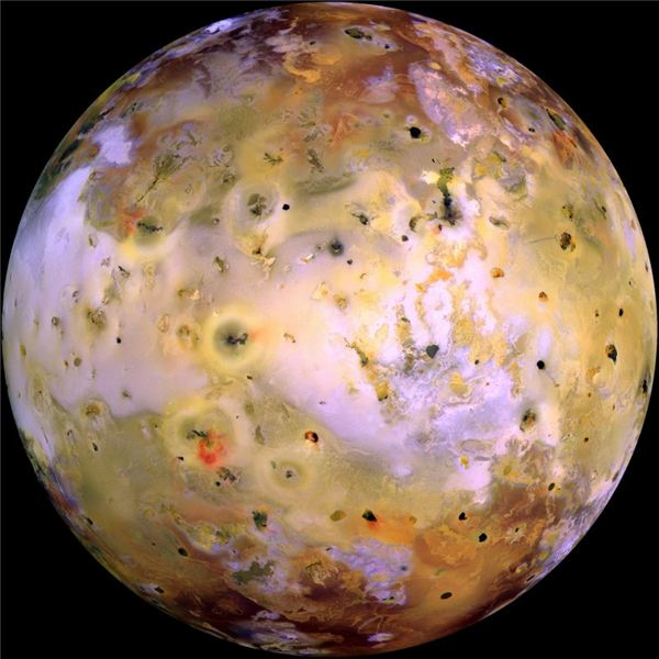 Jupiter's Io - Moon With a Volcanic Complexion