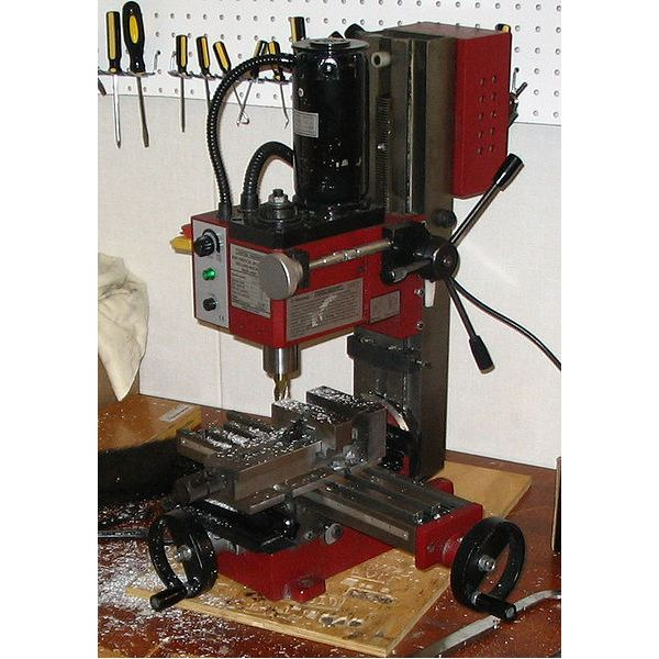 Parts Of The Boring Head A Small Milling Machine