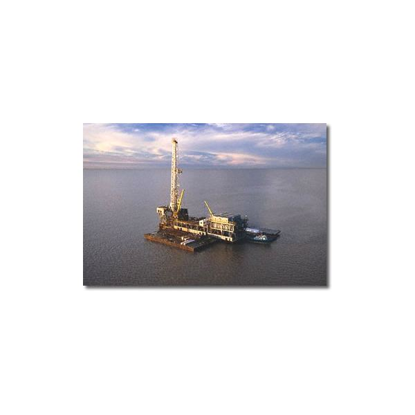 drilling-barge