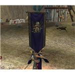 Guilds can create their own Heraldry and display it in combat.