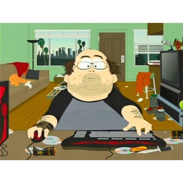 elitist mmo gamer from south park