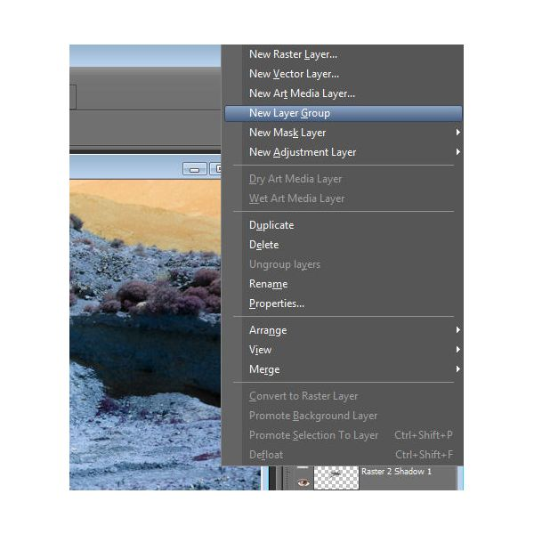 Create New Layer Group