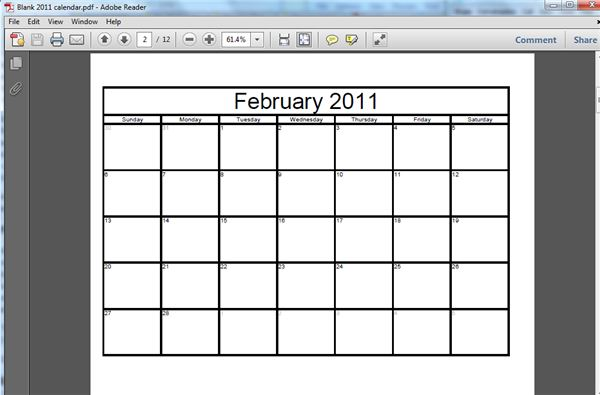 Tutorial on how to make a free printable blank calendar calendar templates can be found across the internet however the calendars you find often resemble each other and they allow virtually no customization saigontimesfo