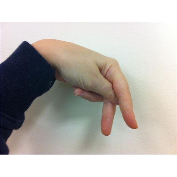 American Sign Language: Fingerspelling P