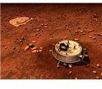 Dipiction of Huygen on Titan - Copyright ESA