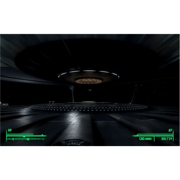 Fallout 3: Mothership Zeta - Look for the Little Red Nodes in the Void of Space