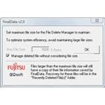 Feile Delete Manager config