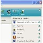 Activities in Windows Live Messenger