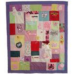 Recycled Quilt by Jamie of Jelly Bean Quilts