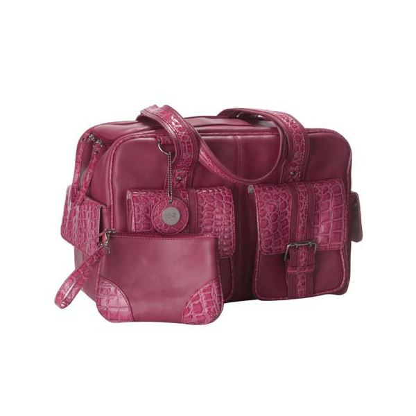 Jill-e 961457 Camera Leather Bag Medium (Pink)