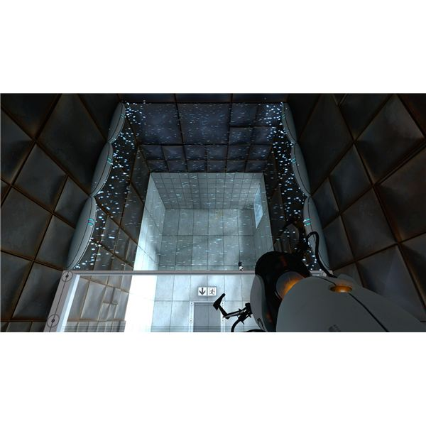 Portal Walkthrough - Chapter 7 - Testchamber 15 Force Field