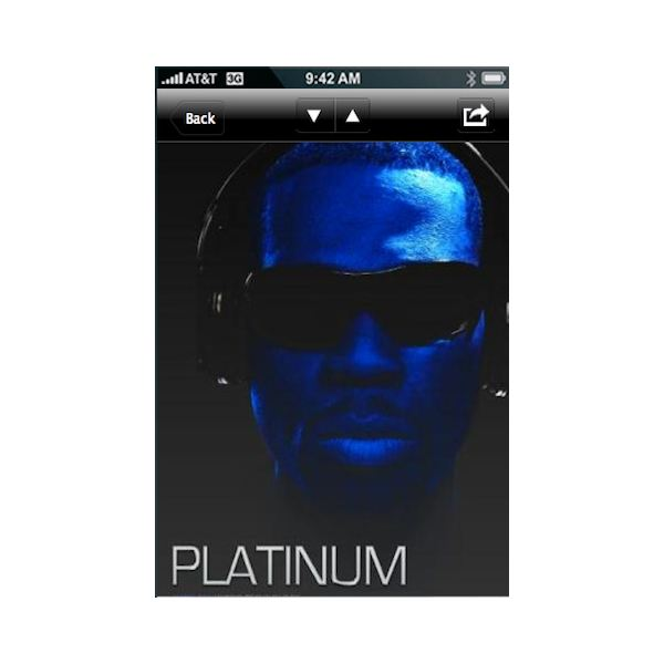 50 cent iphone app 2