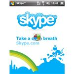 Try the Skype X-Panel app for Windows Mobile