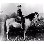 Robert E. Lee on horseback