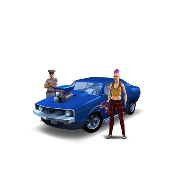 The Sims 3 Vintage Sports Car Code Simulation Game, Unlimited Money