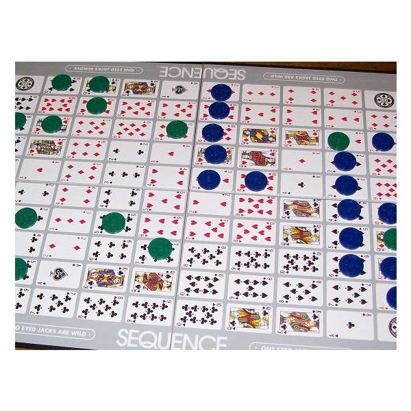 The Sequence board game