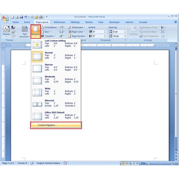 how to make a pamphlet using microsoft word 2007