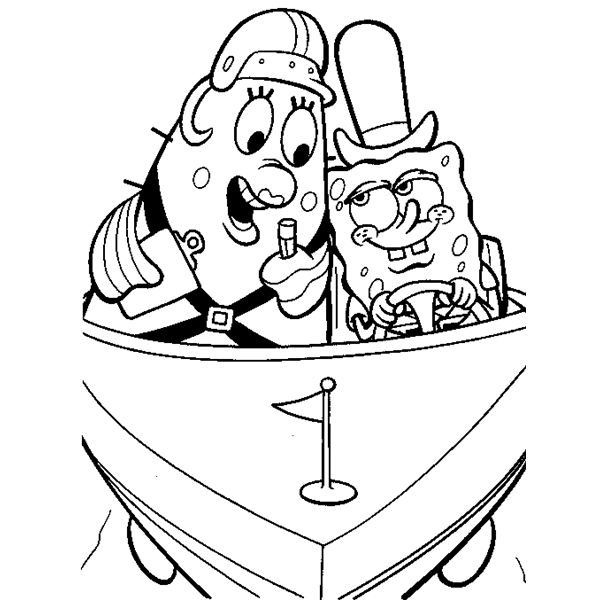 krusty krab coloring pages - photo#34