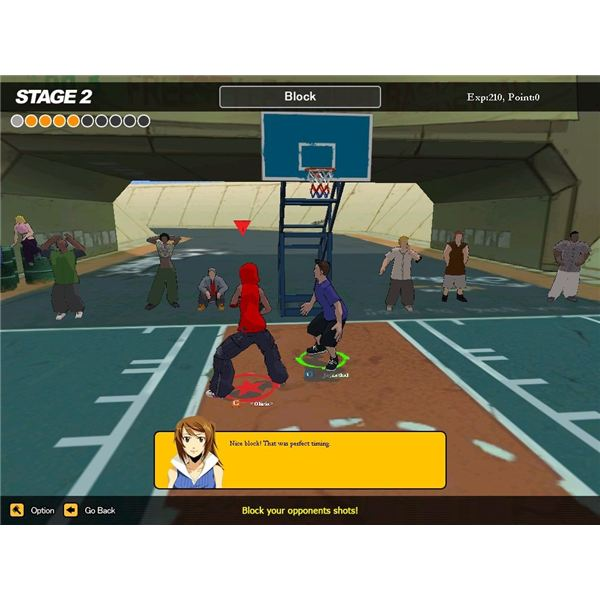 Ball-hogging happens often in this game