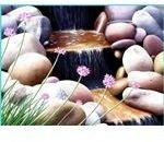 Waterfall-Flowers