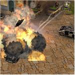 Command and Conquer Generals Explosive Graphics