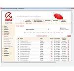 Screenshot of Avira's Virus Information