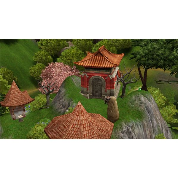 The Sims 3 Mausoleum in China