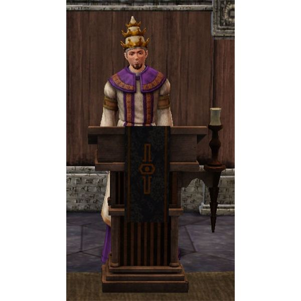The Sims Medieval Jacoban Priest