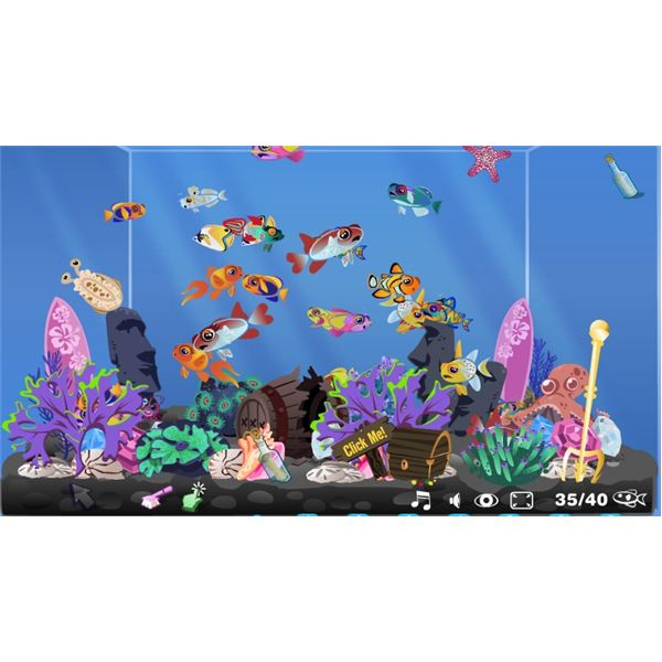 Happy Aquarium Facebook - Fish tank games