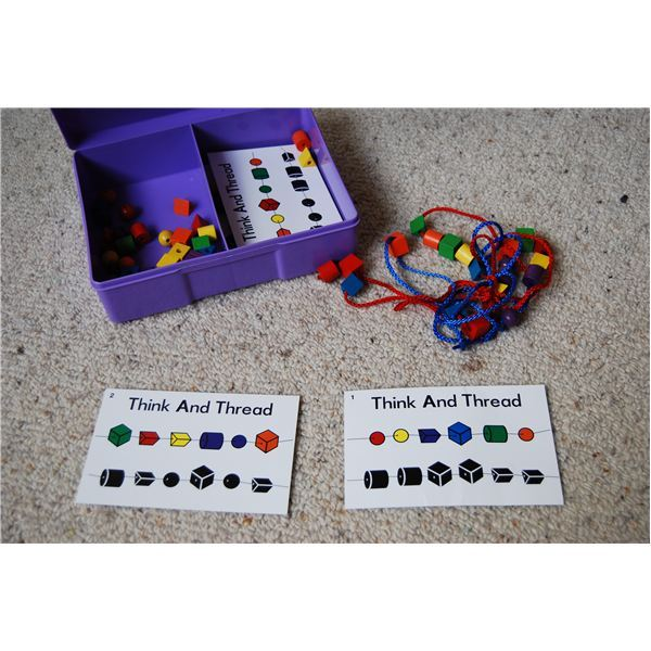 Activities to Improve Fine Motor Skills - Think and Thread Tasks