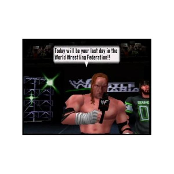 No Mercy featured one of the best career modes ever for a wrestling game.
