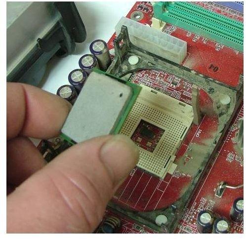 Removing CPU