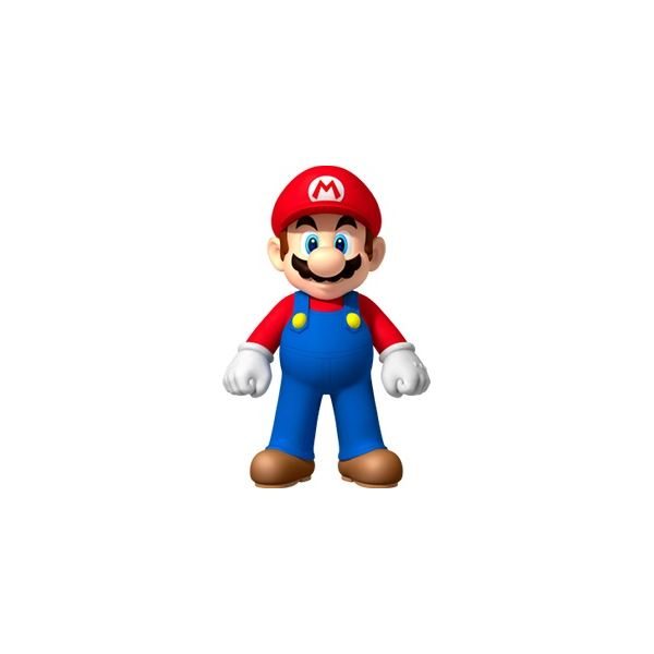 Mario, as depicted in New Super Mario Bros. Wii