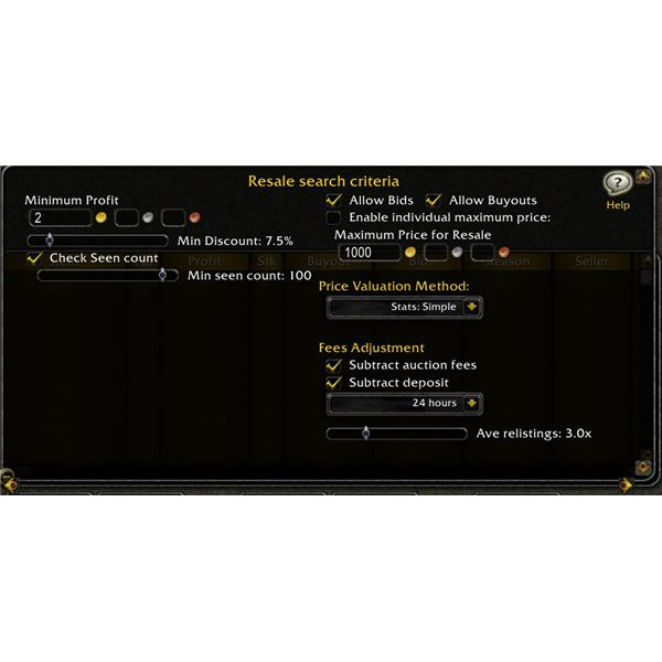 Auctioneer WoW Addon