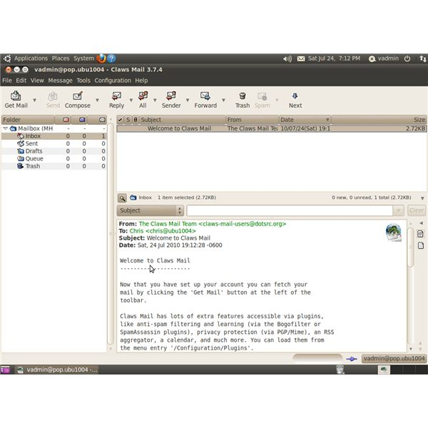 Top Five Linux Email Clients