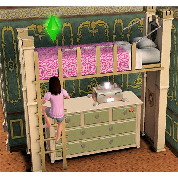 The Sims 3 loft beds