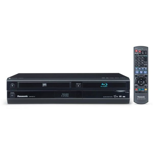 Blu Ray VHS Combo Player from Panasonic: How Blu Ray and VHS Work Together
