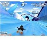 Penguin Rush Flash Game - Christmas Fun