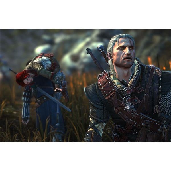Geralt returns in The Witcher 2