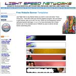Free Banners from Light Speed Networks