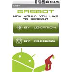 GasBot Homescreen for Google Android