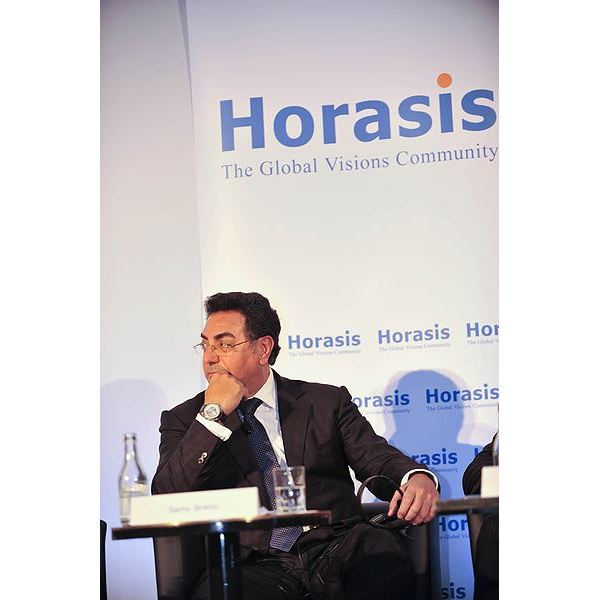 399px-Samir Brikho, Chief Executive Officer, Amec, United Kingdom, on the key building blocks for Chinese firms to move from domestic to global, at the 2009 Horasis Global China Business Meeting