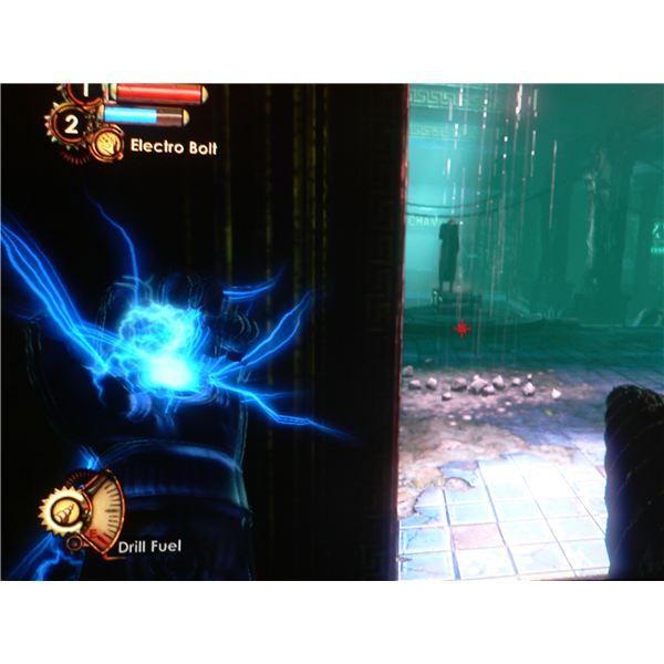 Use Electro Bolt on the Splicer.